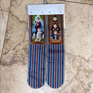 BNWT Disney Haunted Mansion socks 2 pair XS/S